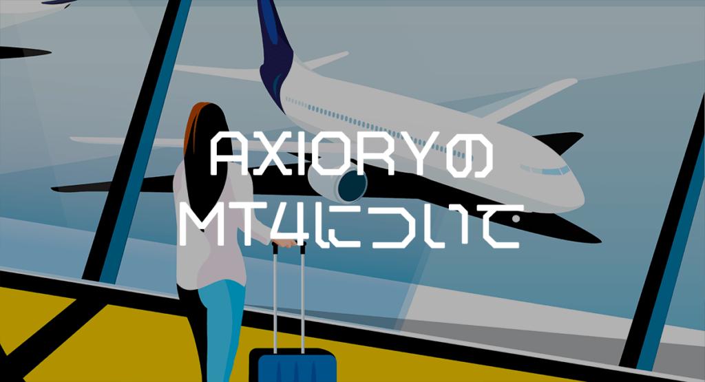 AXIORYのMT4